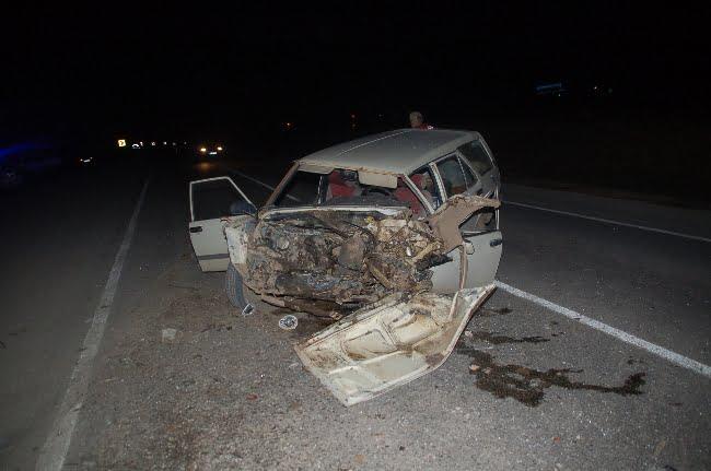 afsinde trafik kazasi 4 yarali