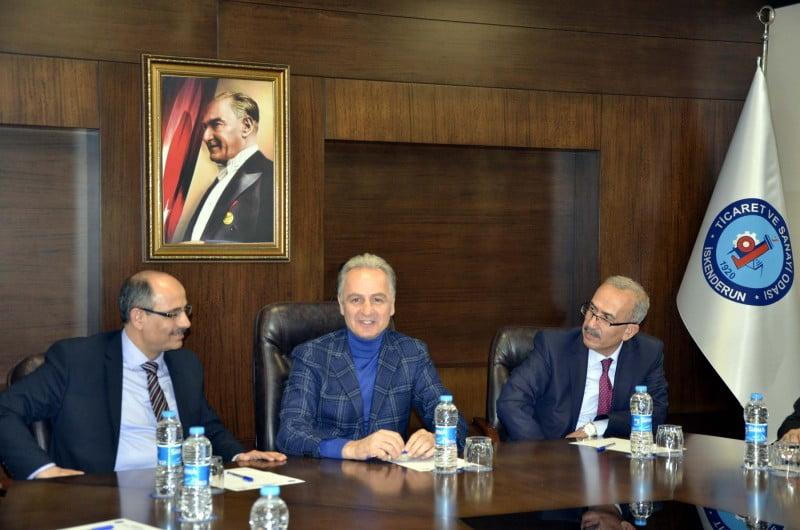 hatay vergi dairesi başkanı erol itsoyu ziyaret etti (2)