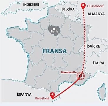 Fransa da 150 kişiyi taşıyan yolcu uçağı düştü iskenderun