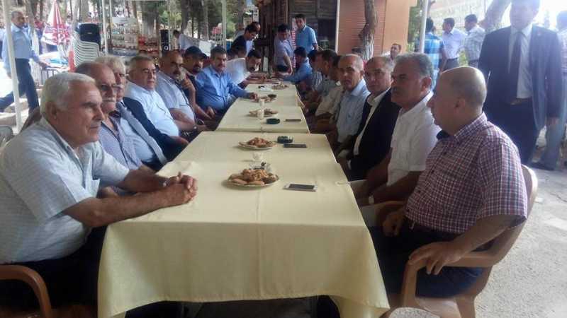 CHP Belen İlçe Teşkilatı Belen Kaymakamlığının hazırladığı bayramlaşma programına katıldı (1)