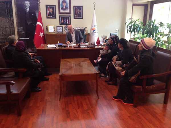 Başkan Seyfi Dingil, İnsan Odaklı Hizmet Anlayışı İle Çalışıyoruz