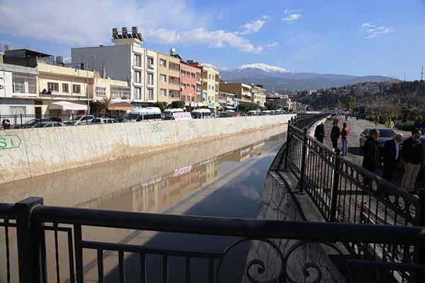 Orman ve Su İşleri Bakanı Veysel Eroğlu,İskenderun Feyezan Kanalında İncelemelerde Bulundu