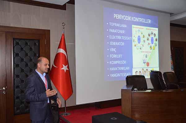 İTSO'da İş Sağlığı ve İş Güvenliği Bilgilendirme toplantısı düzenlendi