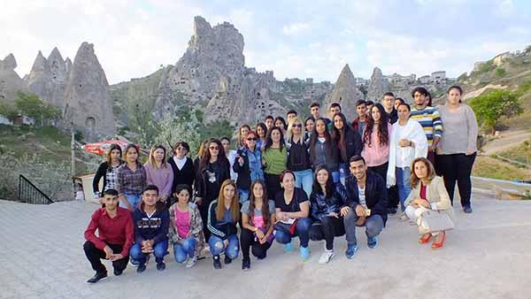 İskenderun Korunmaya Muhtaç Çocuklara Yardım Derneği, Anıtkabir'de