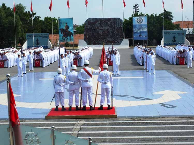 İskenderun Deniz Er Eğitim Alay Komutanlığında Yemin Töreni Gerçekleşti