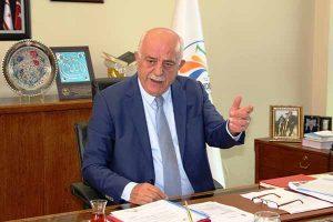 Başkan Seyfi Dingil ,Ziraat bahçesinin yeri kent parkı olacak