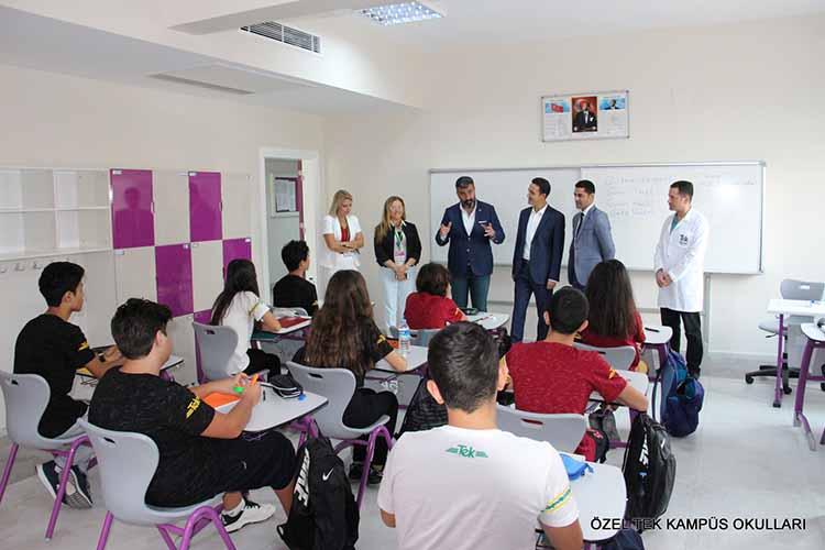 Payas Belediye Başkanı Bekir Altan'dan Özel Tek Kampüs Okullarına Hayırlı Olsun Ziyareti