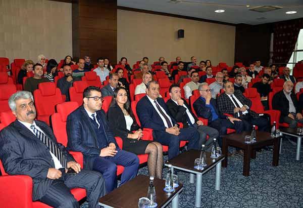 İTSO ve KOSGEB Müdürlüğü işbirliğiyle düzenlenen KOBİ Tekno yatırım Destek Programı bilgilendirme toplantısı yoğun ilgi gördü