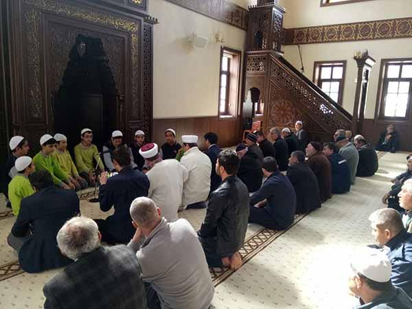 Belen'de  Afrin Şehitleri için hatimler indirildi, dualar edildi