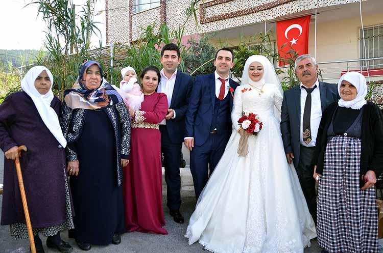 Güler Ailesinin Düğününde Afrin Şehitleri İçin Dualar Edildi