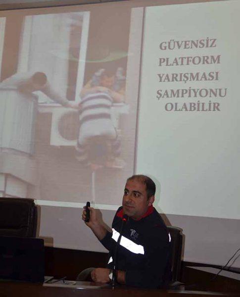 İTSO'da Vergi Dairesi çalışanlarına yönelik İş Sağlığı ve İş Güvenliği semineri düzendi