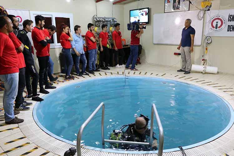 İSTE Sualtı Dalış Merkezi Eğitimlere Başlıyor