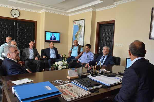 Başkan Culha, Devrimci İşçi Sendikaları Genel Başkanı Kani Beko'yu Ağırladı