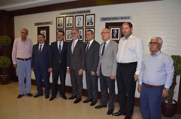 MHP Hatay milletvekili adaylarından İTSO'ya ziyaret