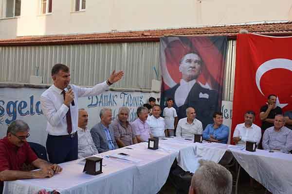 """Başkan Culha;""""Biz Büyükşehir Belediyemizle Uyum Ve Koordinasyon İçerisinde Çalışıyoruz"""""""