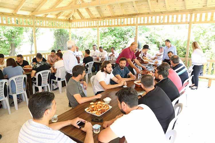Hatayspor'da Menemenli Kutlama