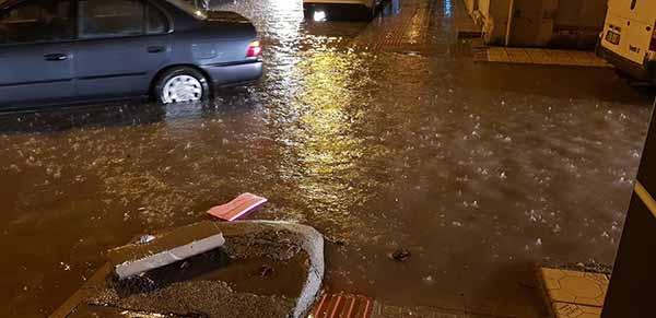 Mayıs Yağmuru İskenderun'u Vurdu