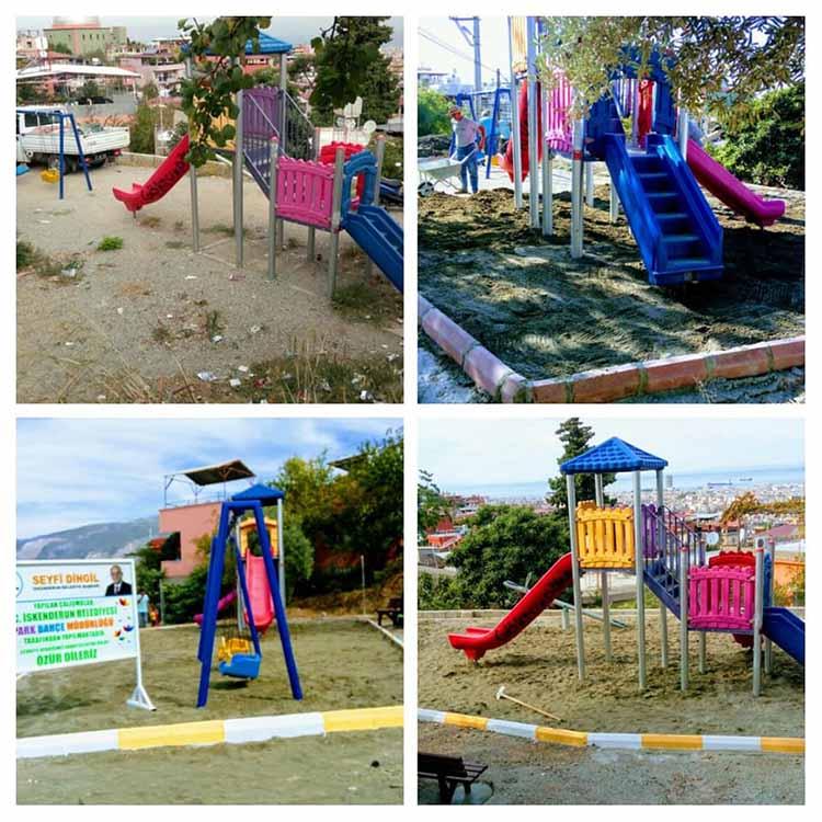 Esentepe Mahallesine Yeni Çocuk Parkı Yapıldı