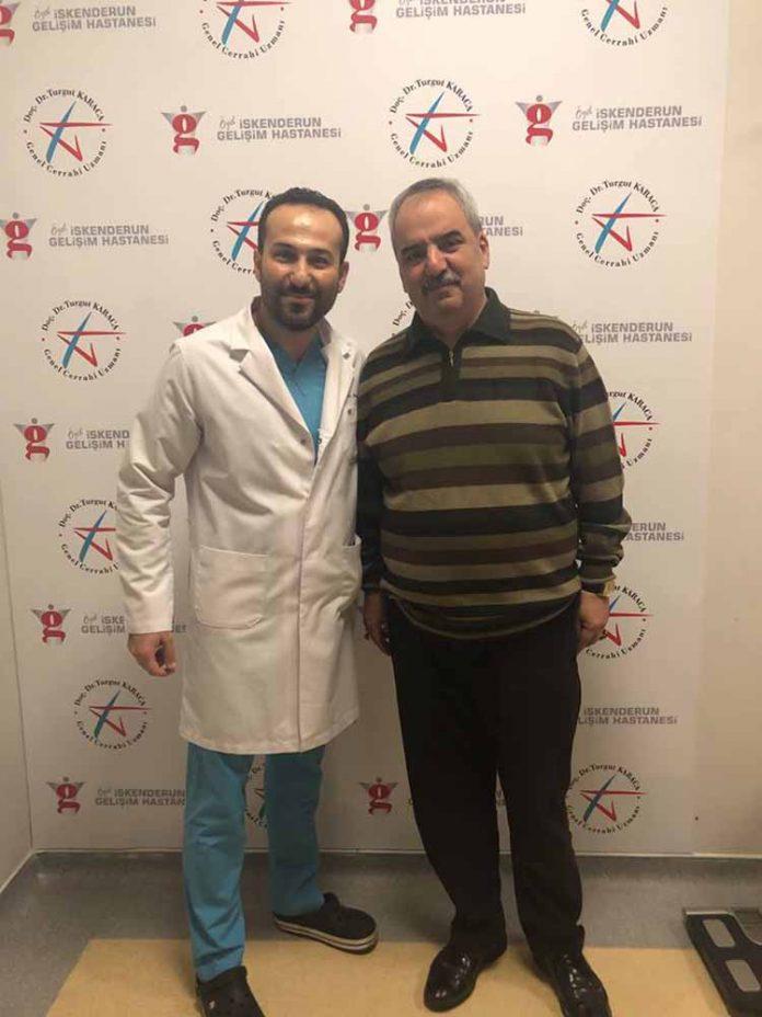 skenderun Gelişim Hastanesi Genel Cerrahi Uzmanı Doç. Dr. Turgut Karaca 2