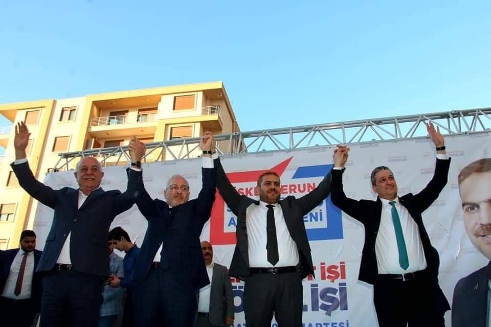 Ak Parti iskenderun Belediye Başkan Adayı Fatih Tosyalı Merkez Seçim Ofisini Açtı
