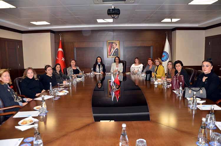 Hatay İl Kadın Girişimciler Kurulu ve İcra Komite Başkanlık seçimleri İTSO'da gerçekleştirildi