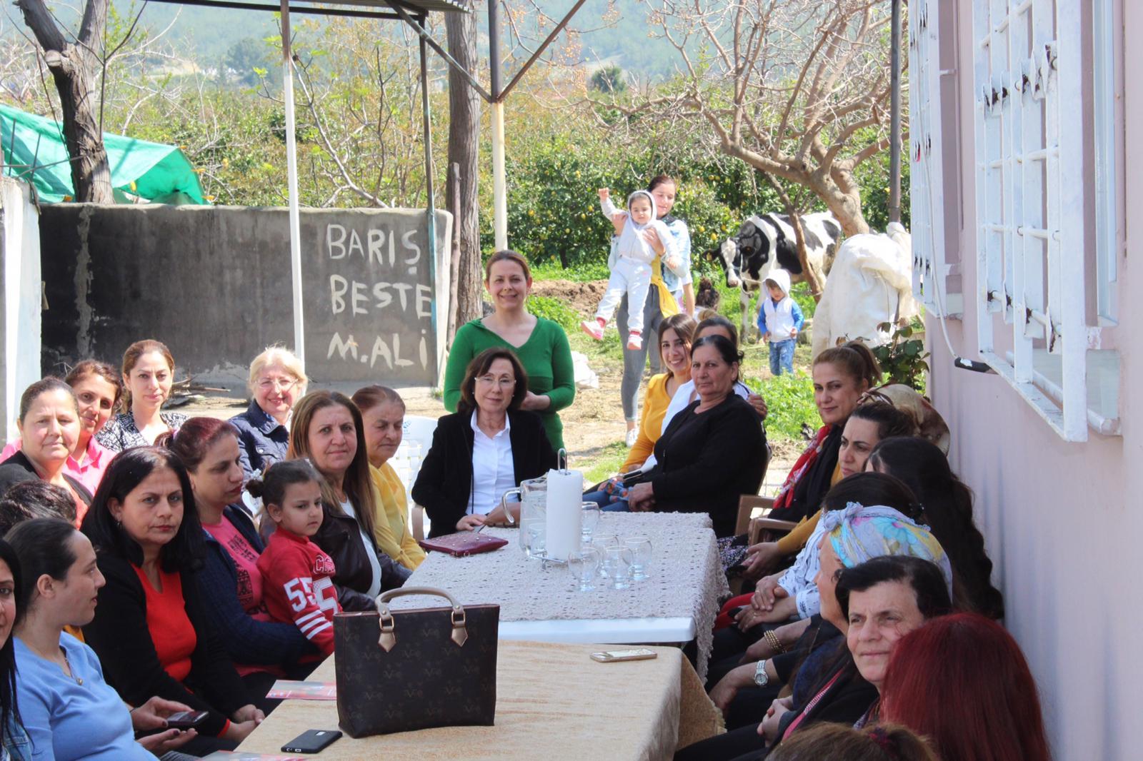 Arsuz'da kadınlar 'Güven'li bir seçime hazır