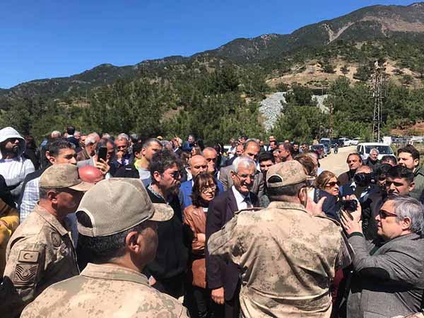 Arsuz'da Çed Toplantısı İptal Edildi