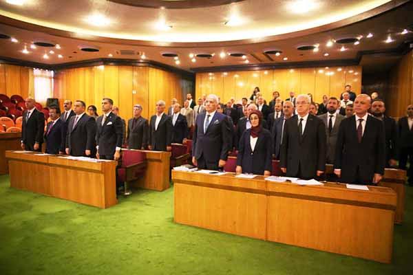 İskenderun Belediye Meclisi İlk Toplantısını Gerçekleştirdi
