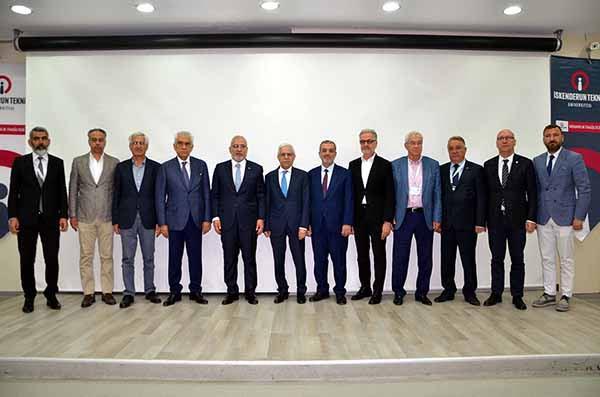 'İskenderun Mekânsal Gelişim Çalıştayı' düzenlendi