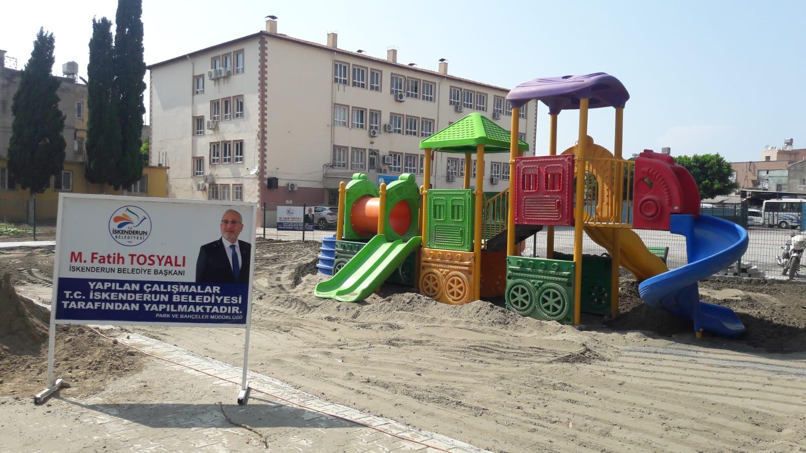 Dumlupınar Ve Muradiye'nin İlk Parkı Yapılıyor