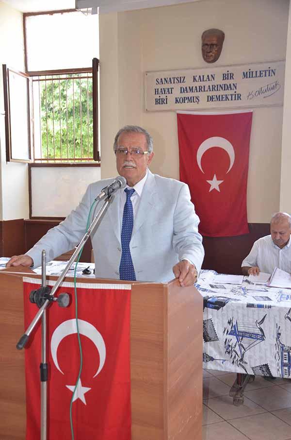 İskenderun Küçük Sanayi Sitesi Yapı Kooperatif Başkanlığına İbrahim Açıkgöz yeniden seçildi