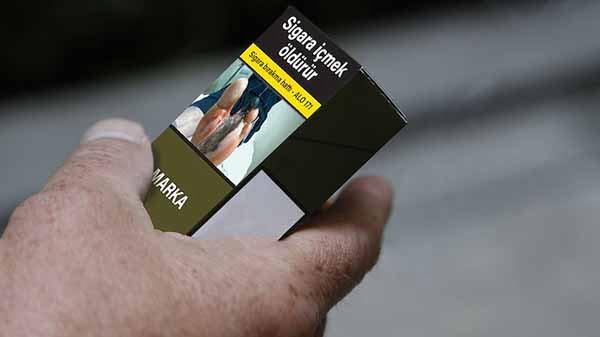 sigara tek tip paket