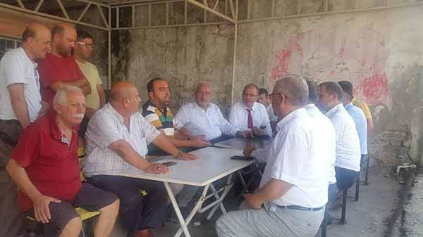 İskenderun Belediye Başkanı Fatih Tosyalı, Şoför Esnafının Yanındayız