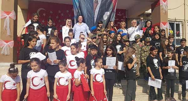 Şükrü Kanadlı İlk ve Ortaokulu'nda Cumhuriyet  Bayramı Coşkusu
