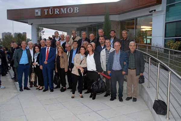 İskenderun Serbest Muhasebeci Mali Müşavirler Odası TÜRMOB'un 23. Olağan Genel Kuruluna katıldı