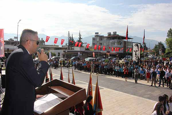 Arsuz'da 29 Ekim Cumhuriyet Bayramı Coşkuyla Kutlandı