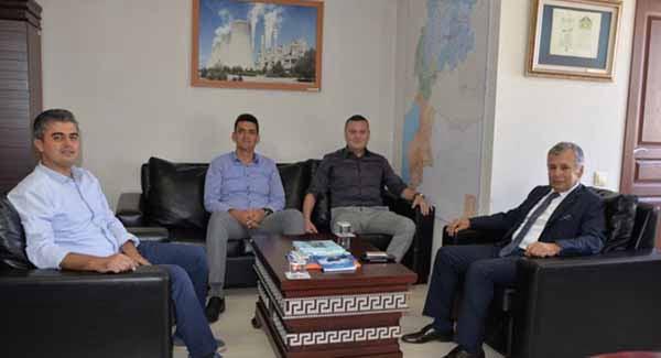 TÜRKONFED Yönetim Kurulu Başkan Yardımcısı EKİNCİ'den DOĞAKA'ya ziyaret