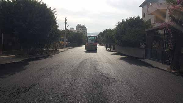 Karaağaç'ta Asfalt Çalışmaları Devam Ediyor