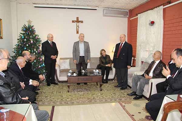 Başkan Fatih Tosyalı'dan Ortodoks Kilisesine Ziyaret