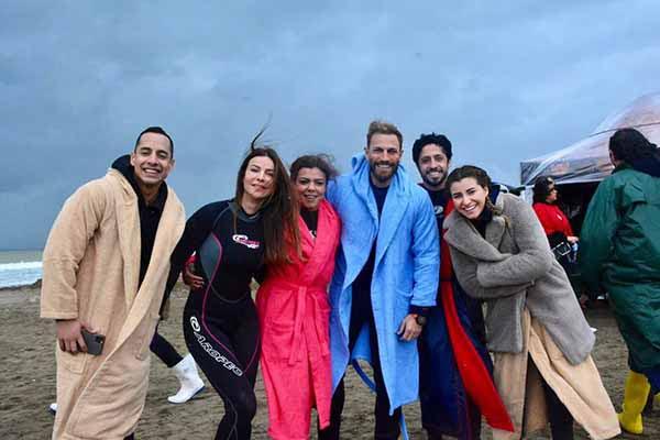 Murat Yıldırım Arsuz'da Film Çekiminde