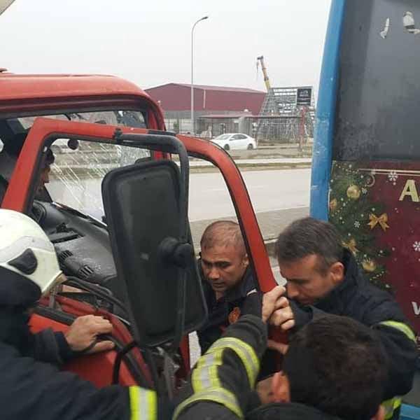 Hatay'da Trafik Kazası Meydana Geldi