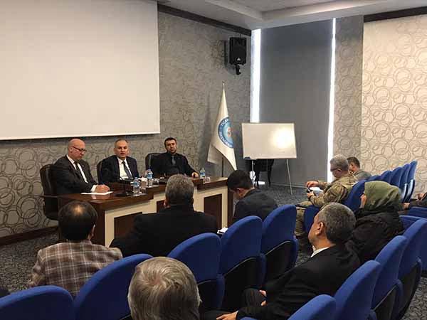 İlçe Koordinasyon Toplantısı İtso'da Yapıldı