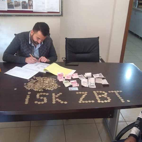 İskenderun'da Dilencinin Üzerinden Çıkan Para Şaşırttı