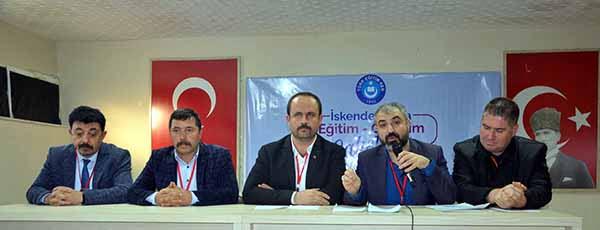 Türk Eğitim-Sen Hatay 2 Nolu Şubesinden Örnek Çalıştay