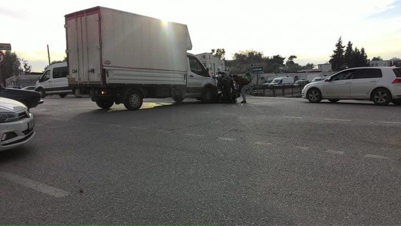 İskenderun'da Trafik Kazası Meydana Geldi
