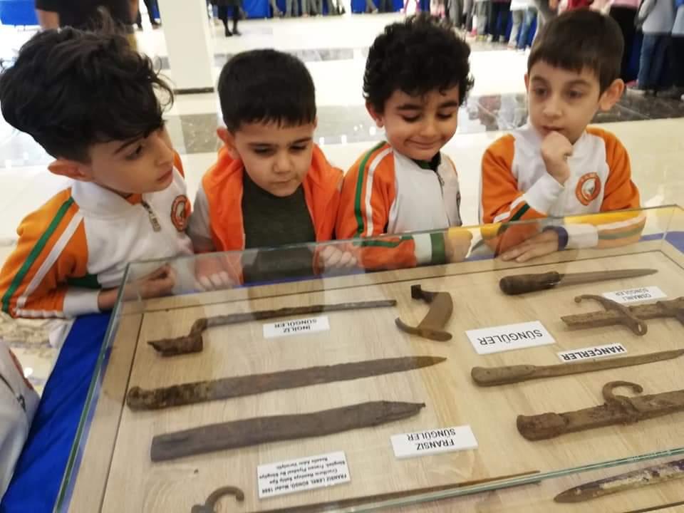 Pamuk Kreş öğrencileri Çanakkale  Gezici Müzesinde tarihi yaşadılar