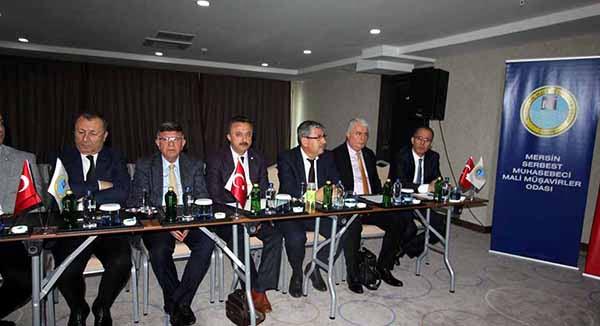 İSMO Yönetimi Mersin'de Akdeniz Odalar Platformu Toplantısına katıldı