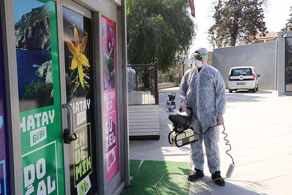 Hatay Büyükşehir Belediyesi AKOM biriminden Corona Virüsü Açıklaması