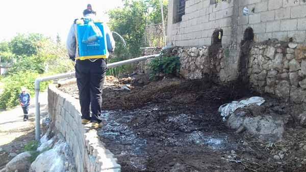 İskenderun Belediyesi Larva Mücadelesine Devam Ediyor