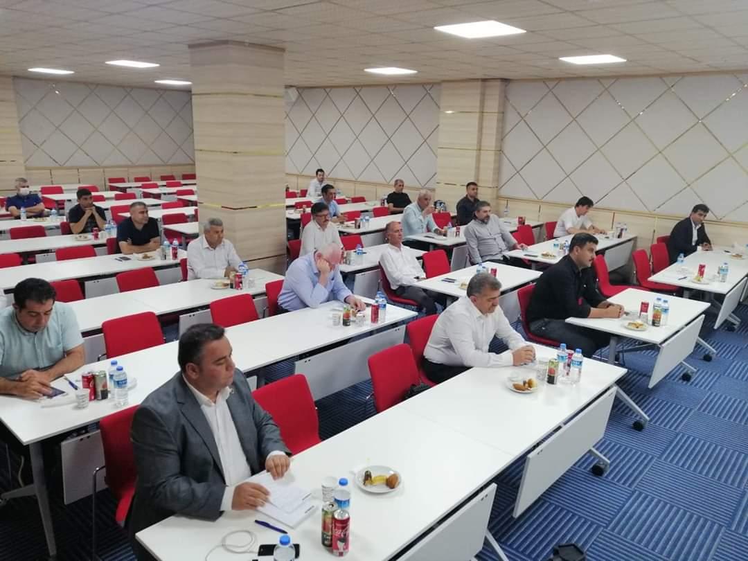 Özçelik İş Sendikası İskenderun Şubesi Temsilciler Meclisi Toplantısına Katıldı